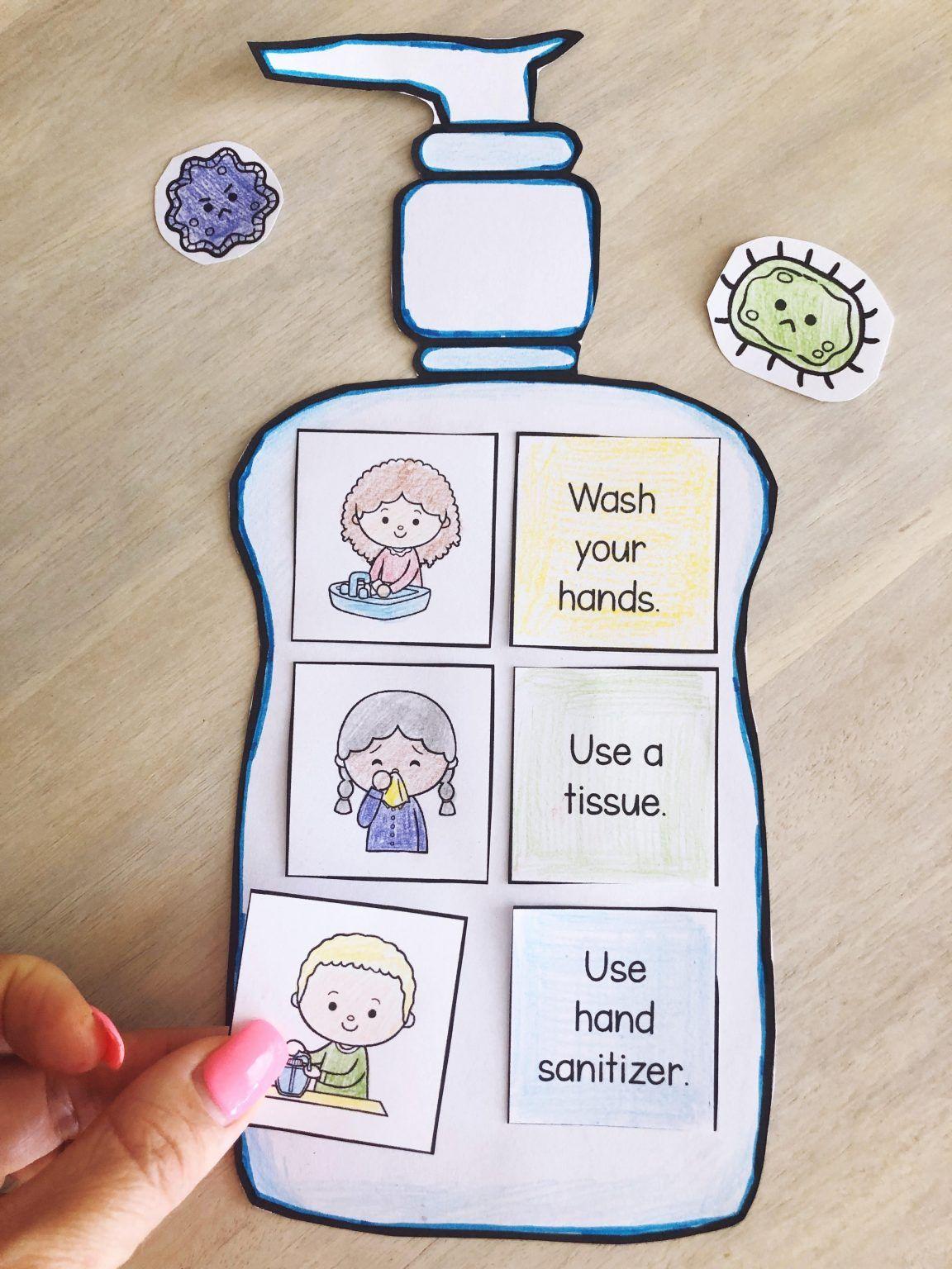 hygiene4 in 2020 | Preschool learning activities, Healthy ...