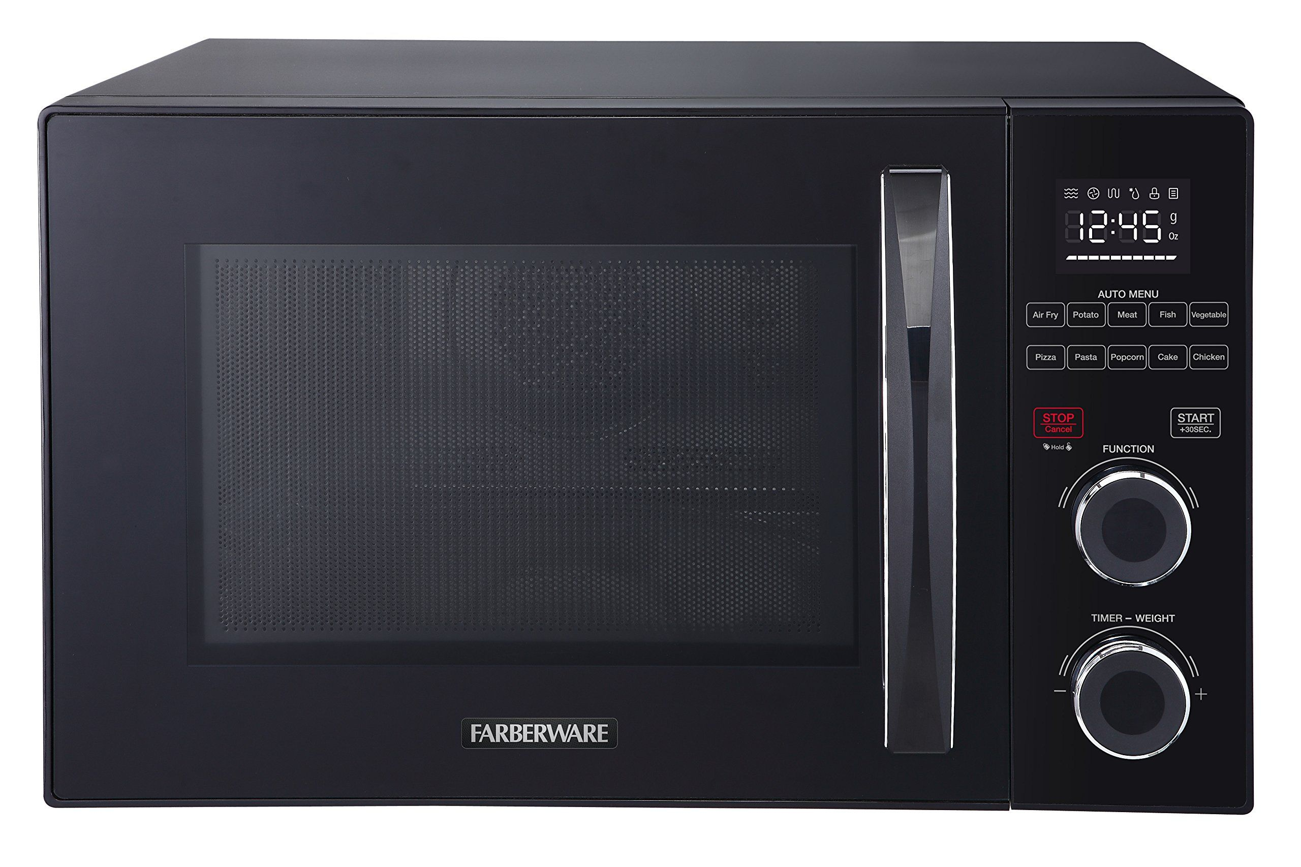 Farberware Gourmet Fmo10ahsbka 1 0 Cubic Foot 1000 Watt Microwave Oven With Healthy Air Fry And Grill Convection Func Home Appliances Farberware Microwave Oven