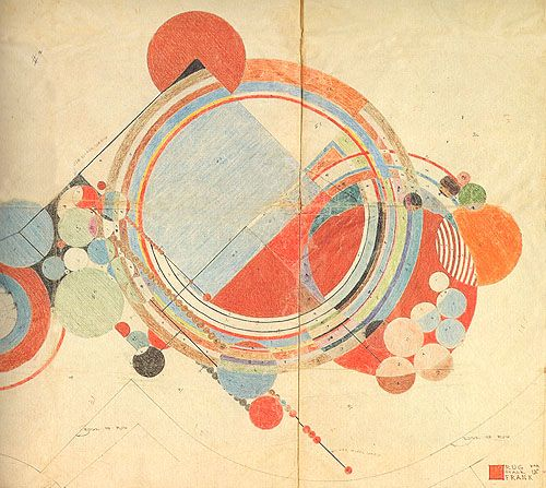 Frank Lloyd Wright Carpet Pattern