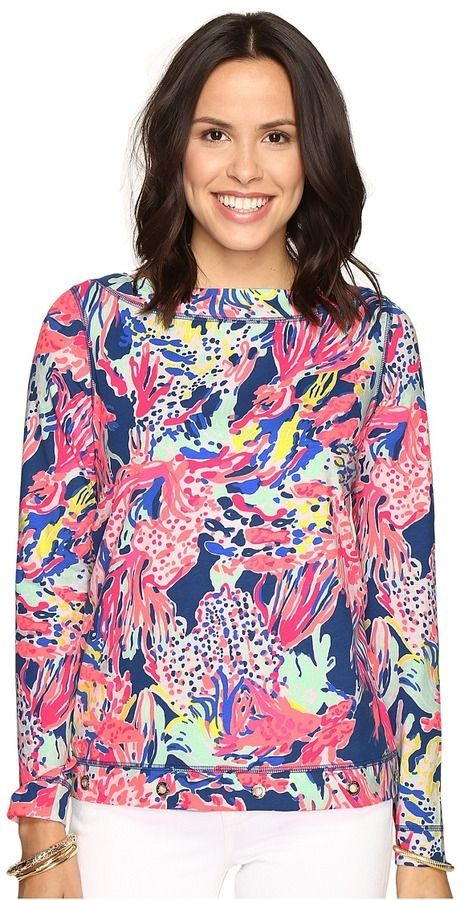 9b4bb487a60 Lilly Pulitzer Jojo Top Women s Clothing