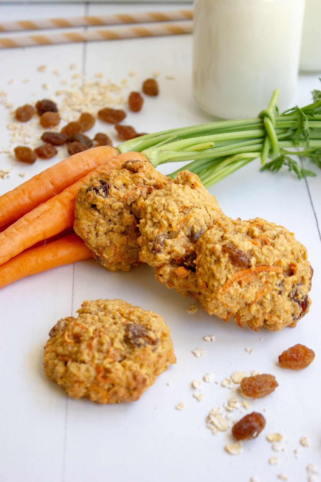 Carrot cake cookies dairy free and so delicious recipe