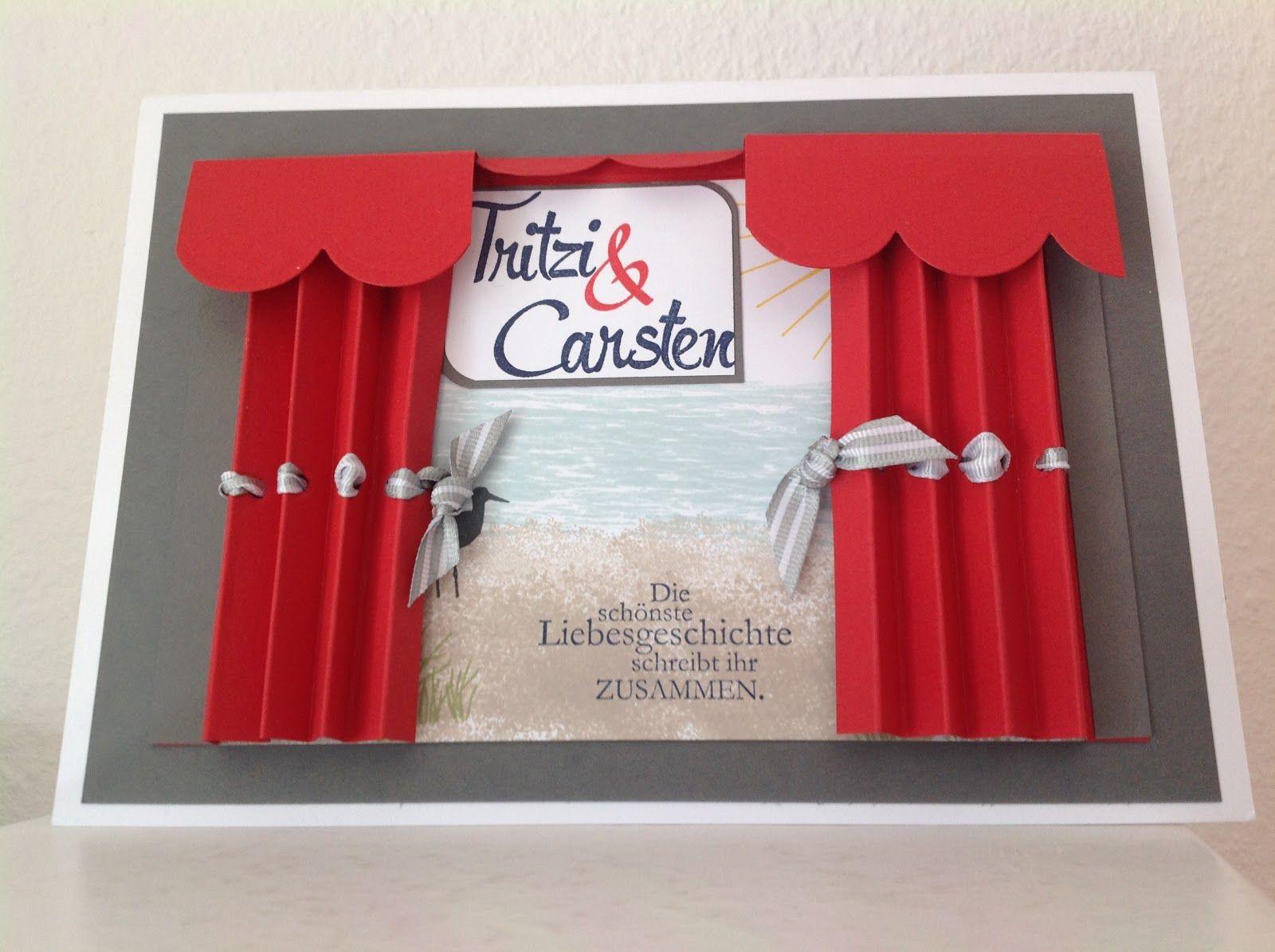 Stempelmädels: Zur Hochzeit Alles nur Theater #konzertkartenverpacken