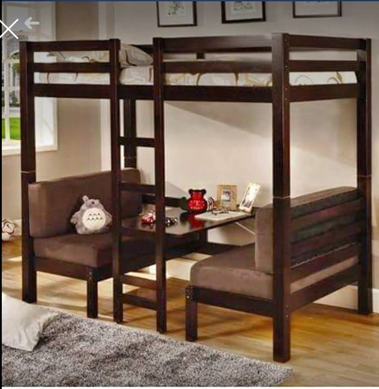 Metal loft bed ideas  Pin by Susan Jones on For Kate  Pinterest