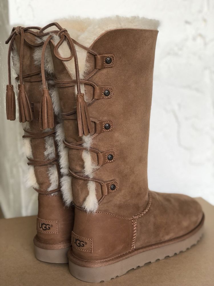 UGG Australia Kristabelle Tall Boots Chestnut Size 7 | eBay