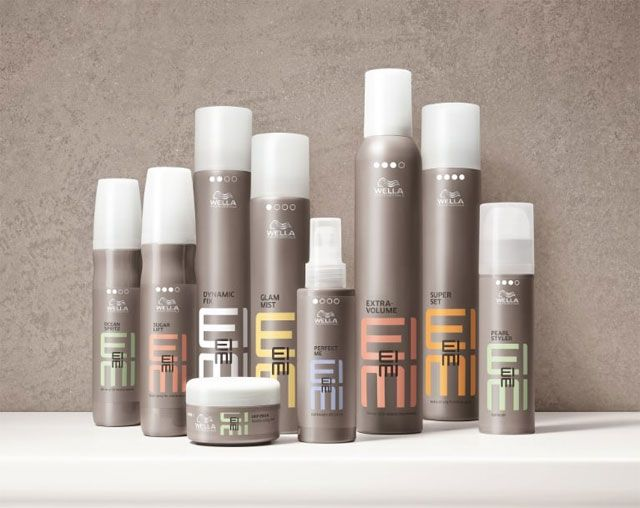 Hair Style Products: Review, Ingredients: Wella EIMI Dry, Perfect Me, Root