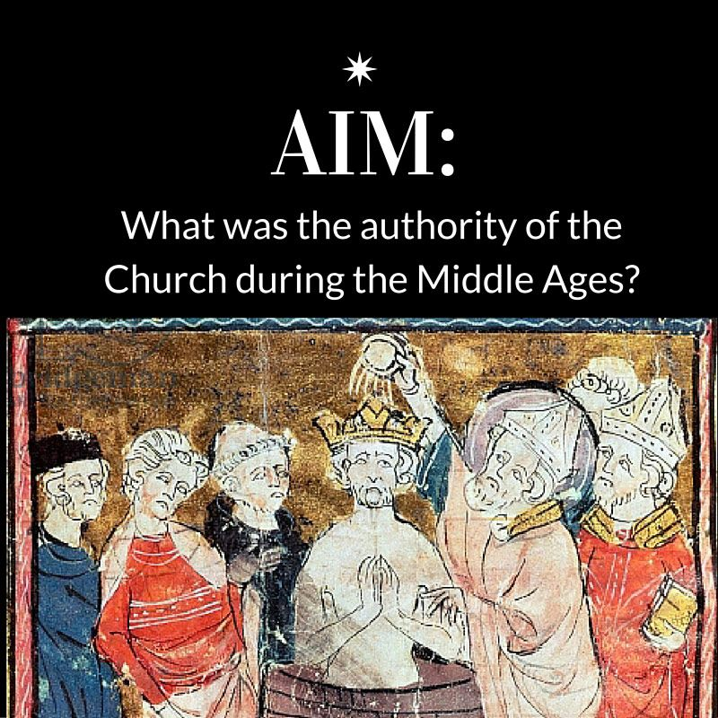 DBQ The Authority Of The Catholic Church During The Middle