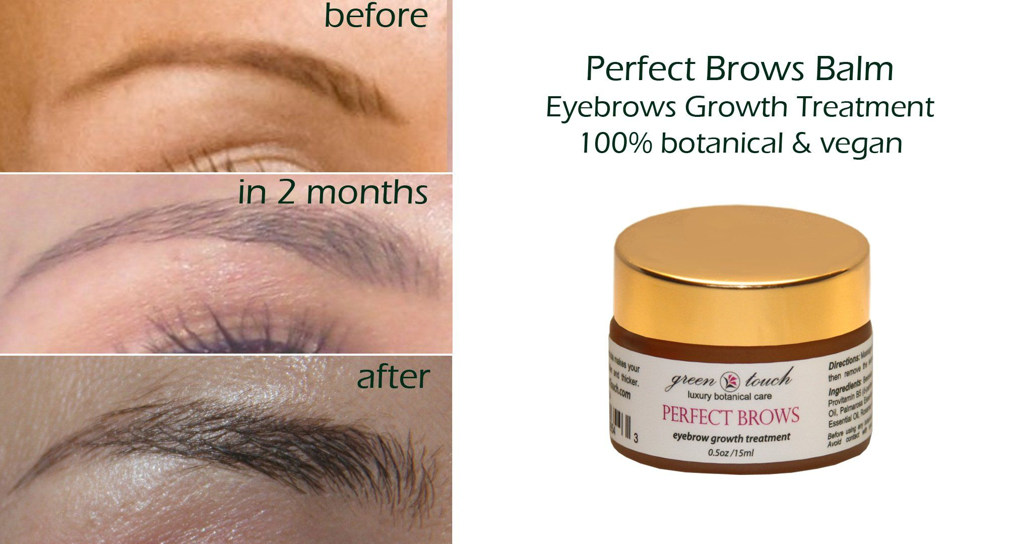 Amazon Eyebrows Growth Accelerator Balm Perfect Brows Growth