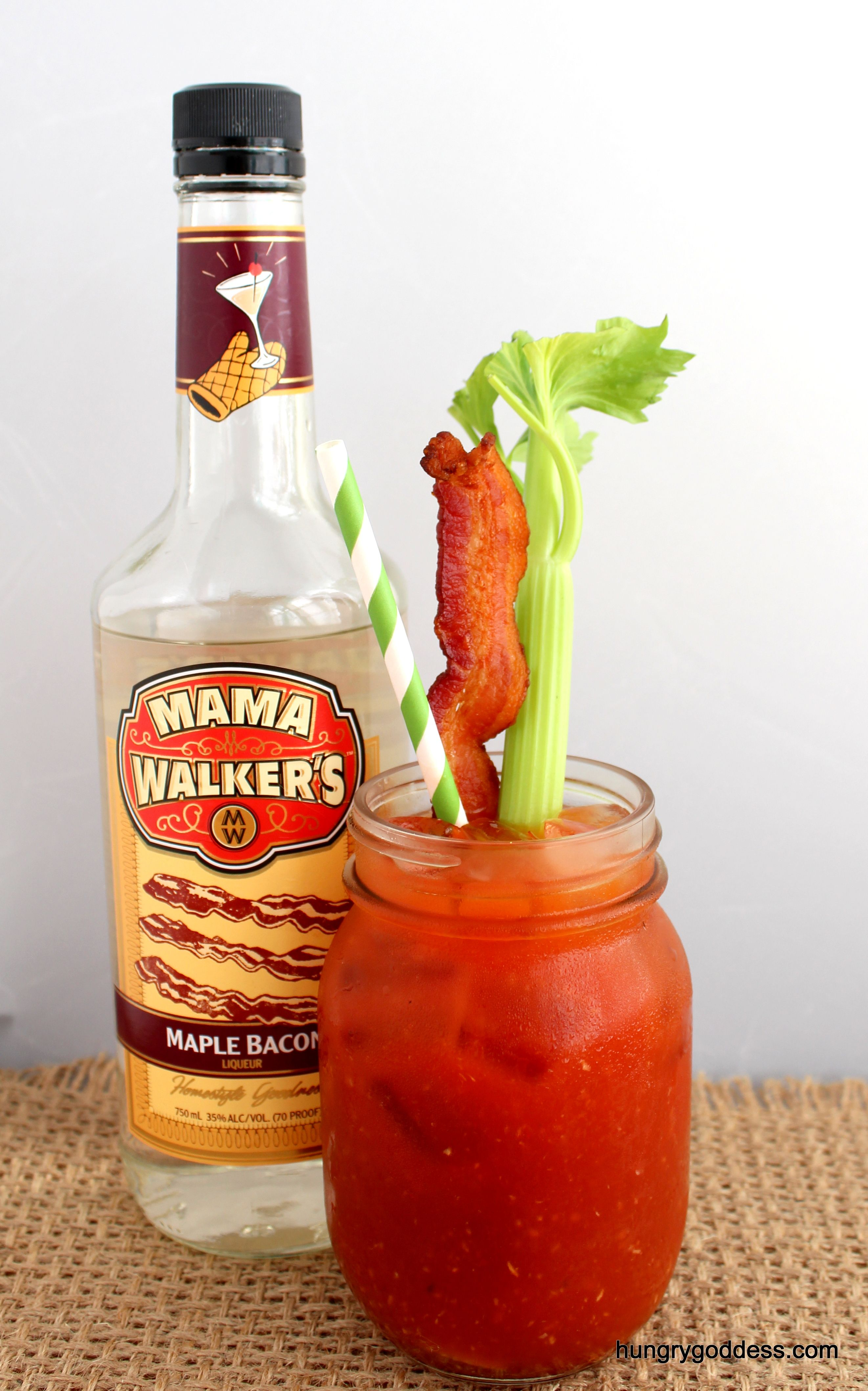Maple Bacon Bloody Mary from Mama Walkers Liqueurs