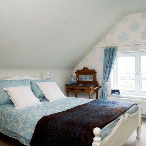 38 tolle und behagliche Schlafzimmer im Dachgeschoss -praktische