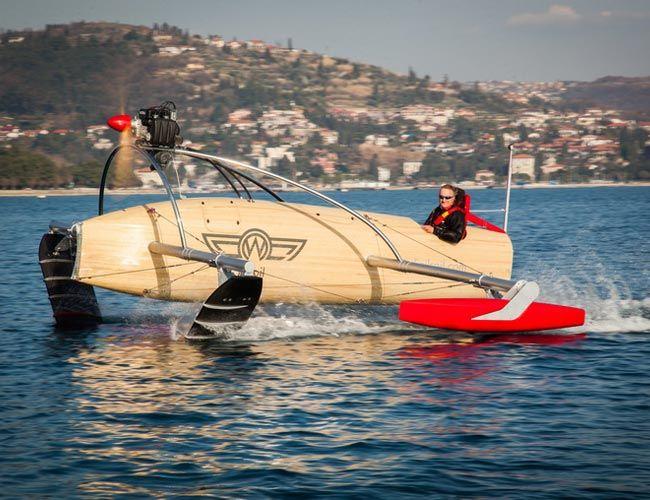 wFoil 18 Albatross. #boats #foils #speedboats
