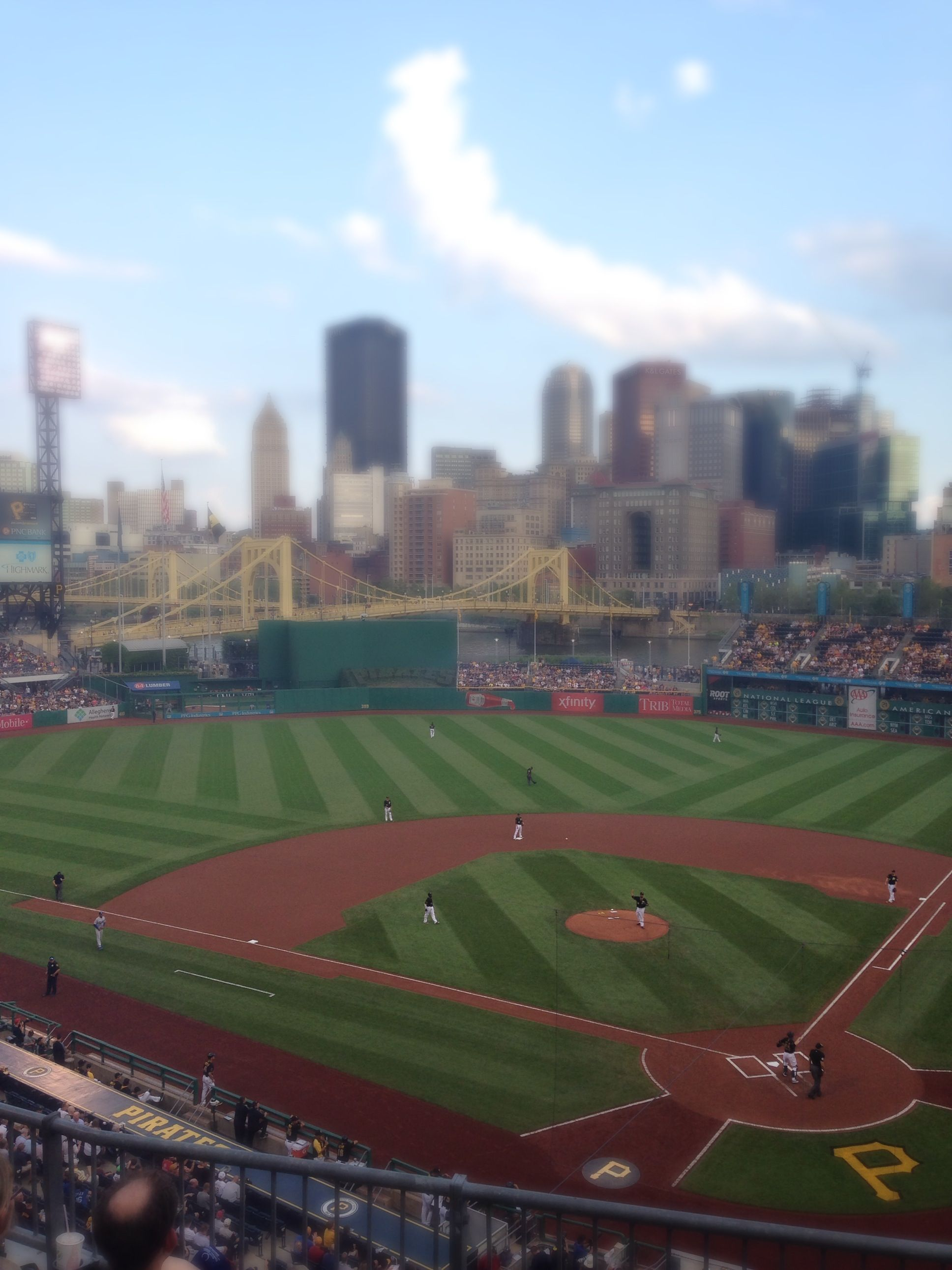 PNC Park. Home of the Pittsburgh Pirates ❤️⚾️