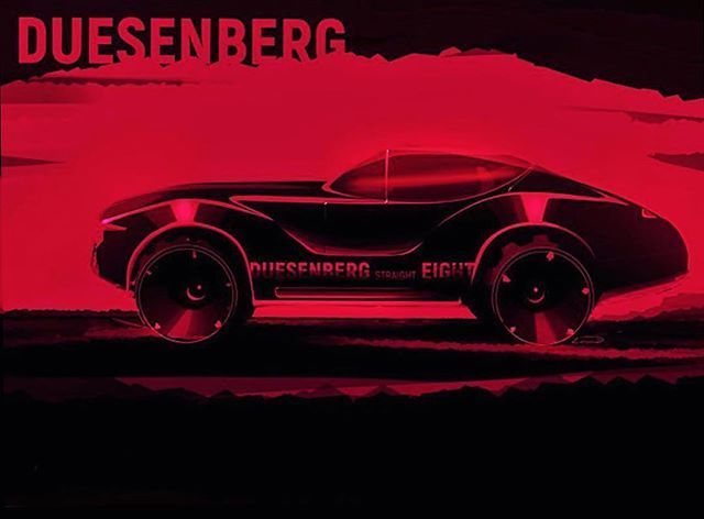 Straight 8 by Alexander L. (@i_let_u) #DuesenbergDesignChallenge  #cardesign #duesey #challenge #cardesigner #automotivedesign #transportdesign #vehicledesign #vision #instacar #caroftheday #carsofinstagram #cargram #autodesign #carstyling #freehand #sketch #sketchbook #wacom #cintiq #black #red #sinister #illustration @formtrends @cardesign.ru @cardesigndaily @motivezine @cardesignsketch
