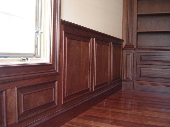 Home Office Wainscot In 2019 Dining Room