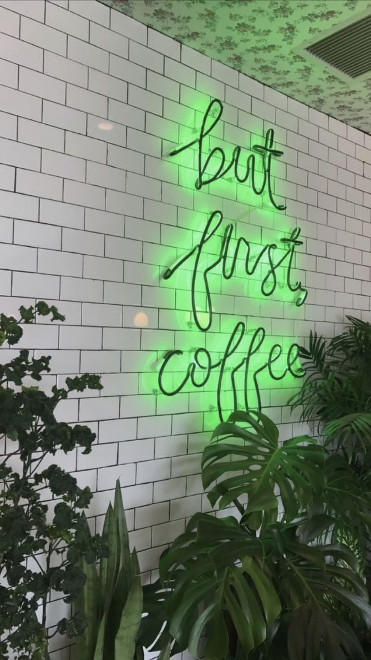 Pin by 𝕗𝕖𝕝𝕝𝕪 on AESTHETIC Neon wallpaper, Green