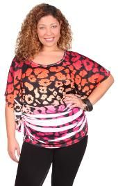 cute pink and orange shirt from Debs
