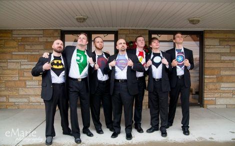 News Flash: Superman Weds Ukrainian Beauty! | eMarie PhotographyeMarie Photography