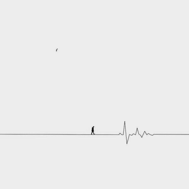 Line Drawing Wallpaper Uk : Minimalist surreal photography empty and