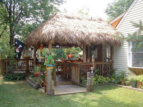 Tiki Huts for Sale | Tiki hut, Backyard, Garden furniture on Backyard Tiki Hut Designs id=43680