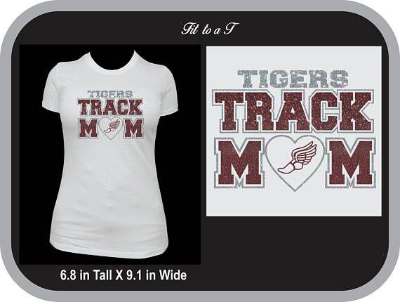 c4fc86b2b Track Mom T-Shirt, Track and Field, Track Mom Tee, Track Mom Gift ...