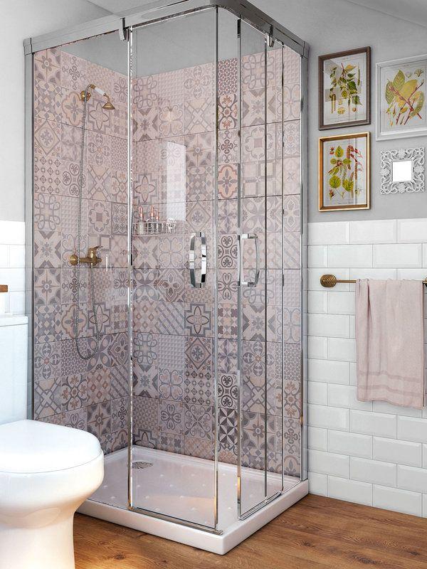 Viste tu ba o con estos azulejos ba o ba os y cuarto de - Baldosa para banos ...