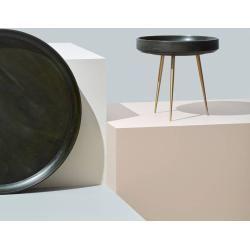 Mater Bowl Table Tisch schwarz mittel Mater