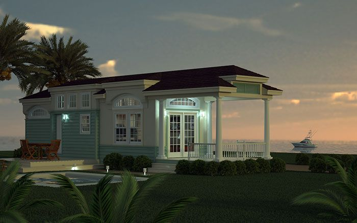 Park Model Home Small Back Deck Small Swimming Pool Small Space Living Park Model Homes Model Homes Mobile Home Siding