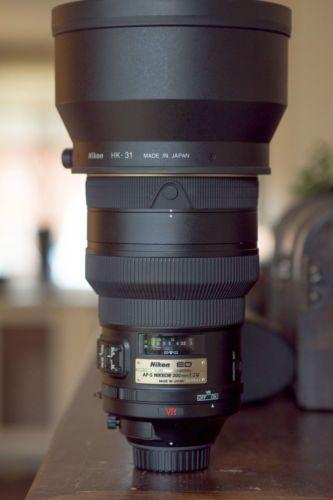 Nikon Nikkor Af S 200mm F2 G Vr Ed Fotografie Fototoestel