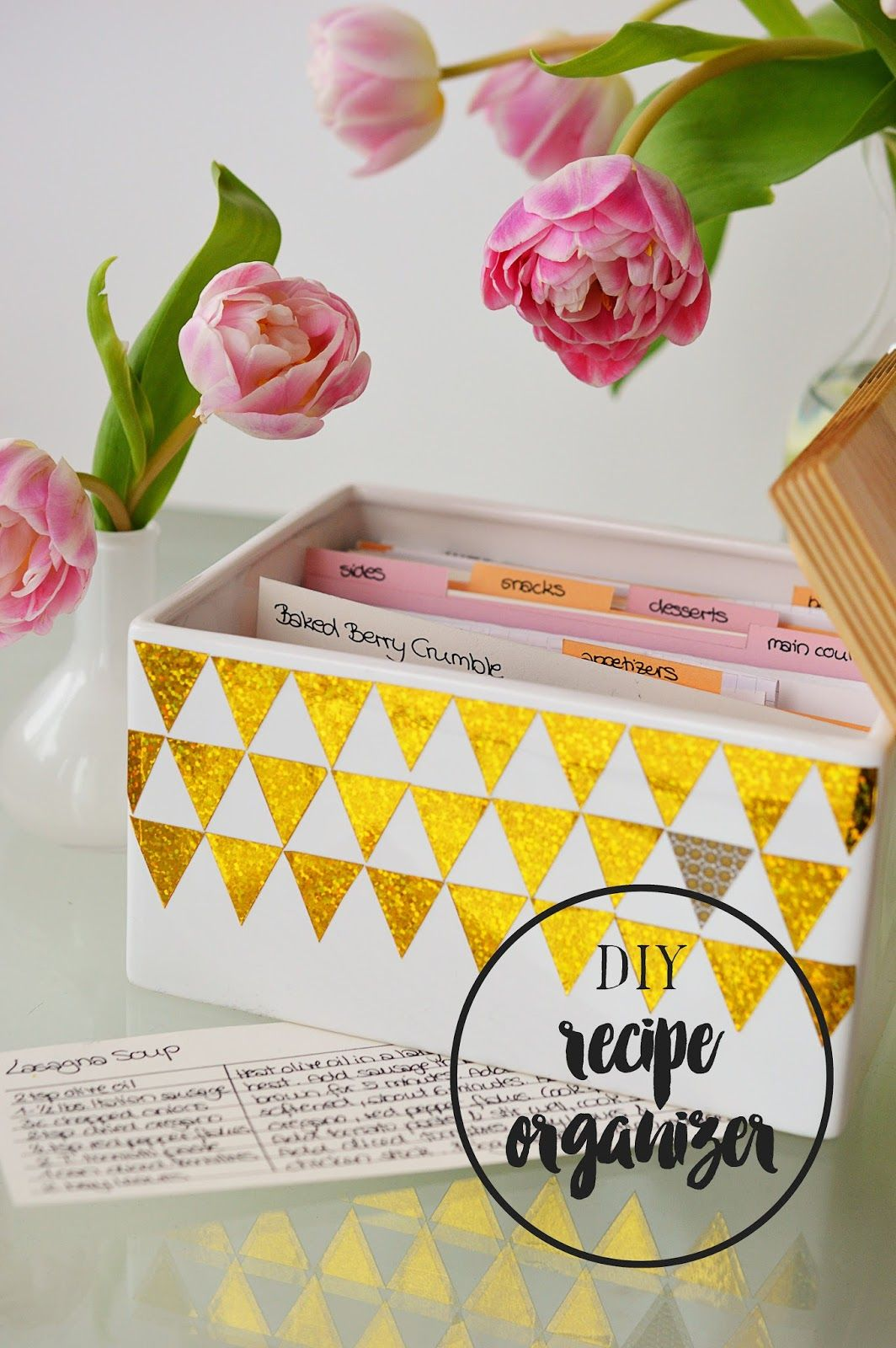 DIY Bread Bin Recipe Organizer | Motte's Blog