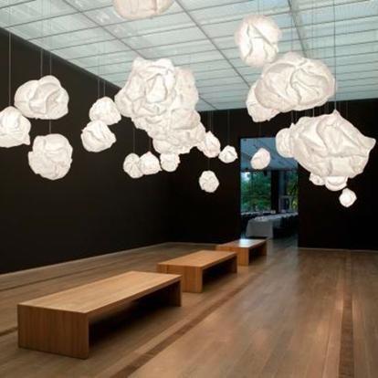 Inspirational Design Lampen himmlische H ngelampe CLOUD H von BELUX