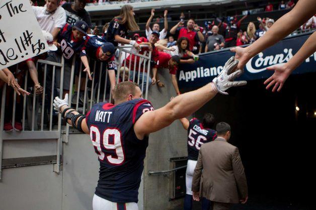 Texans 38 Titans 14 Texans J J Watt Houston Chronicle