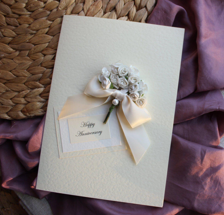 1st anniversary card first wedding anniversary luxury