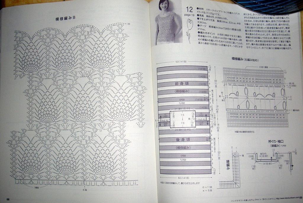 Crochetpedia: Crochet Shirt Blouse Patterns 2 | crochet | Pinterest ...