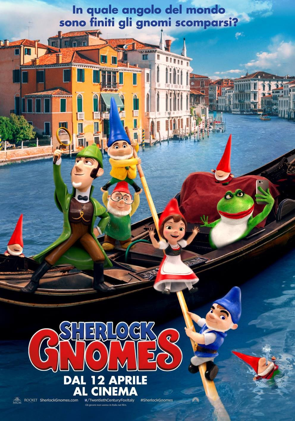 Sherlock Gnomes New Film Posters Https Teaser Trailer Com Movie Gnomeo And Juliet 2 Gnomeoandjuliet Sherlockgn Animated Movie Posters Sherlock Gnomes
