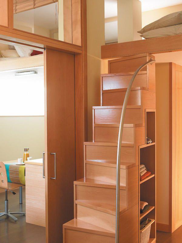 Ambientes de la casa altillo escalera y aprovechado for Escaleras para altillo