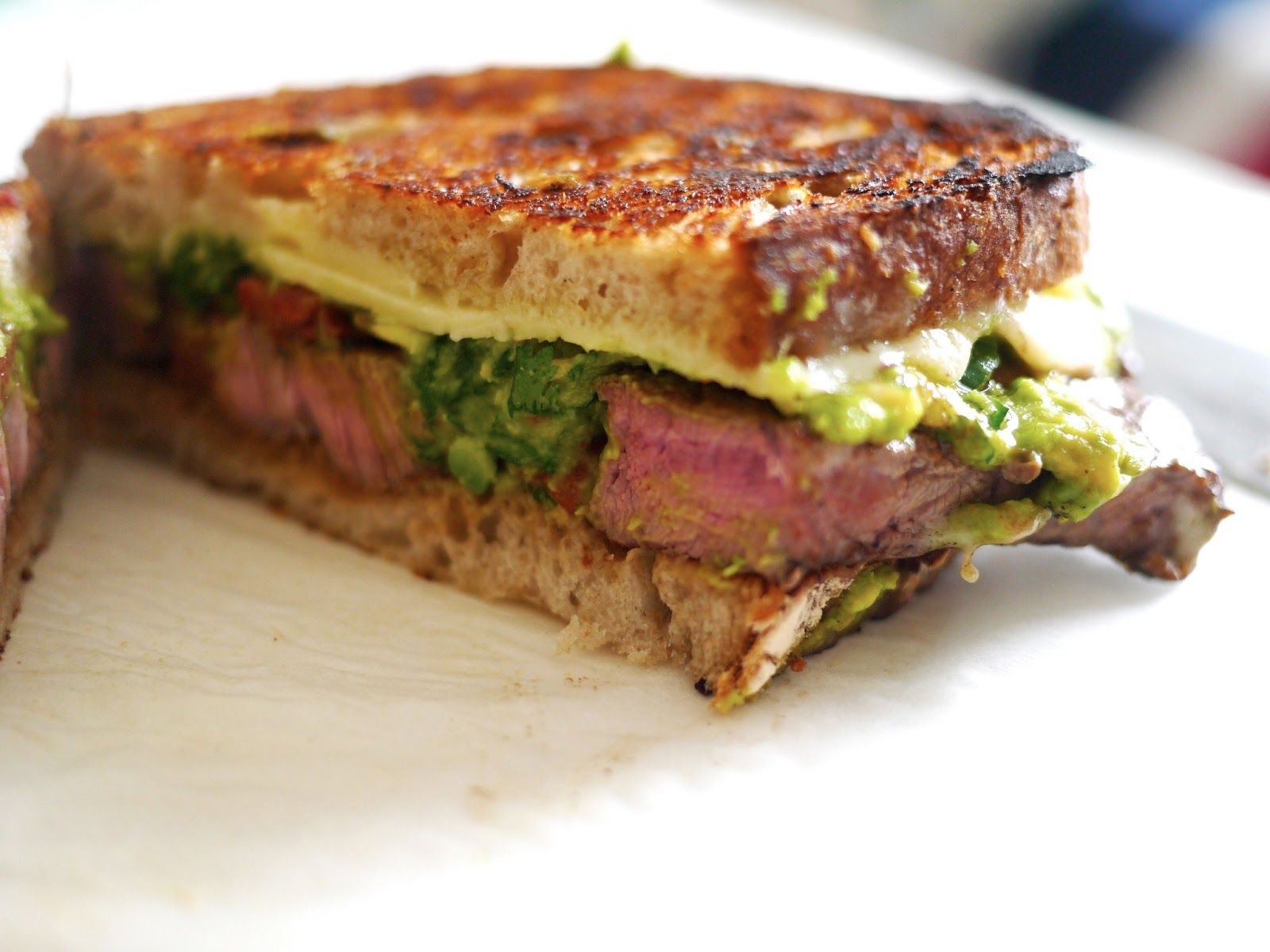 The Londoner: Mexican Cheese Steak Melt