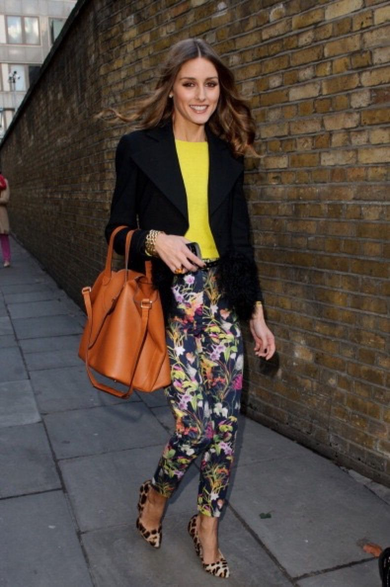 LONDON, ENGLAND - FEBRUARY 19: Olivia Palermo sighted during LFW A/W 2012 on February 19, 2012 in London, England. (Photo by Ben Pruchnie/FilmMagic)