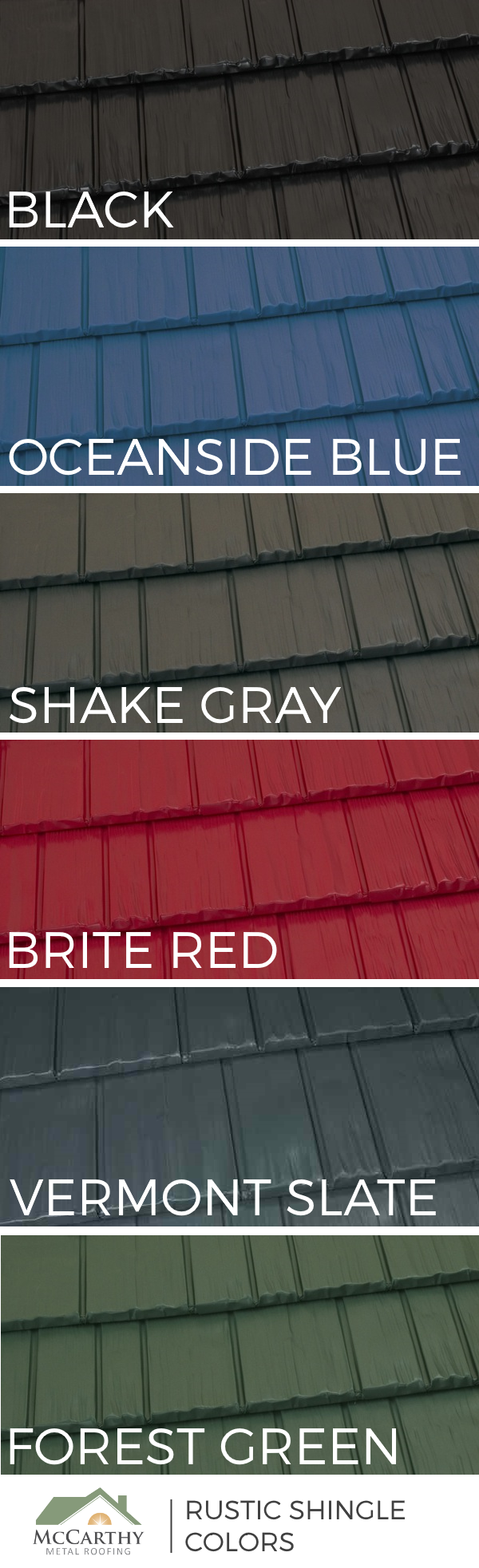 Best Popular Metal Roof Colors 6 On Trend Shades Of The 400 x 300