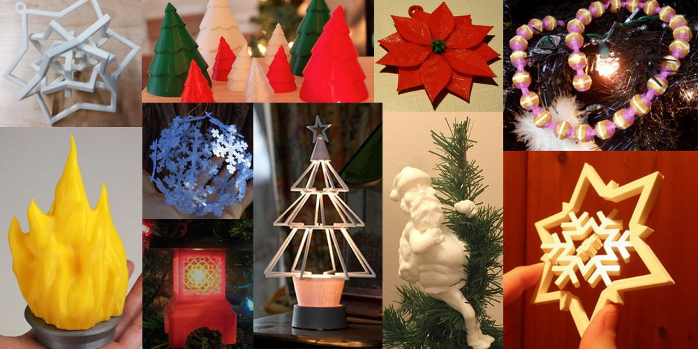 Weekly Roundup Ten 3d Printable Unique Christmas Tree Decorations Ornaments 3dprint Com The Voice Of 3d Printing Additive Manufacturing Unique Christmas Trees Christmas Tree Decorations Origami Christmas Tree
