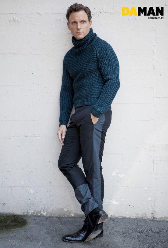 La riga sui pantaloni è hot!