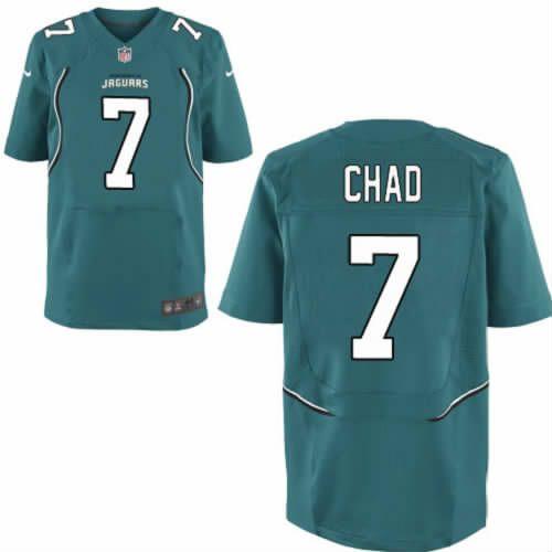 Henne Chad Jersey Jacksonville Jaguars #7 Mens Green Elite Jersey Nike NFL Jersey Sale