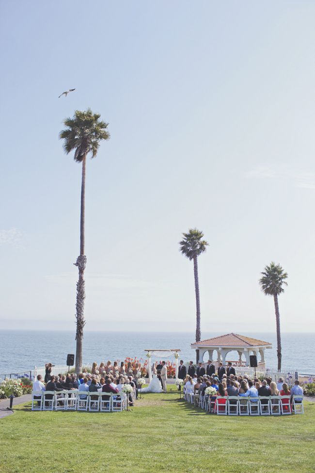 Gray And Gold Pismo Beach Wedding