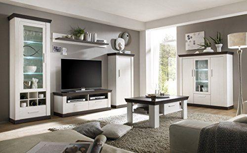 Dreams4Home Couchtisch u0027Tinnumu0027 - Tisch, Sofatisch, Beistelltisch - wohnzimmer modern landhaus