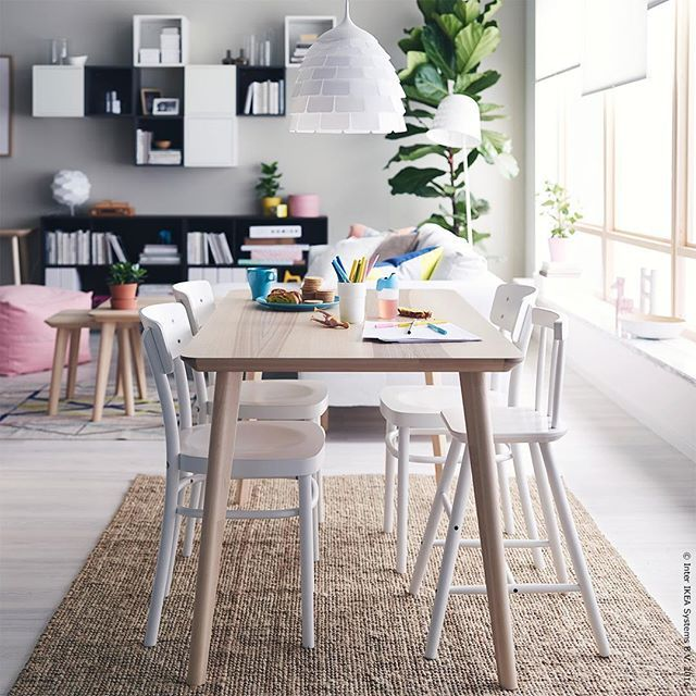 Eat Draw Love Scandi Lisabo Meinikea Ikea Dining Room Ikea Dining Furniture Placement Living Room