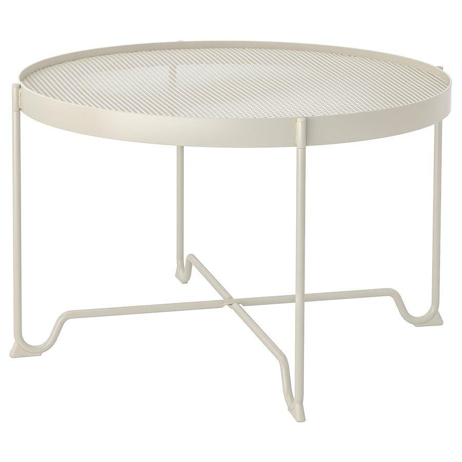 Krokholmen Salontafel Buiten Beige Ikea In 2020 Round Glass Coffee Table Coffee Table Outdoor Coffee Tables [ 900 x 900 Pixel ]