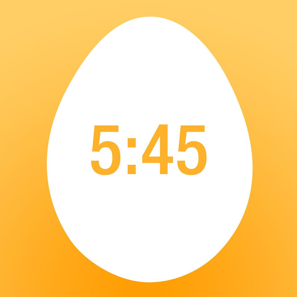 EggMaster, sophisticated egg cooking timer (iPhone, iPad, iPod touch