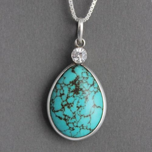 pendant with gallery turquoise jewelry double grey gallerygrey layer wolf shop