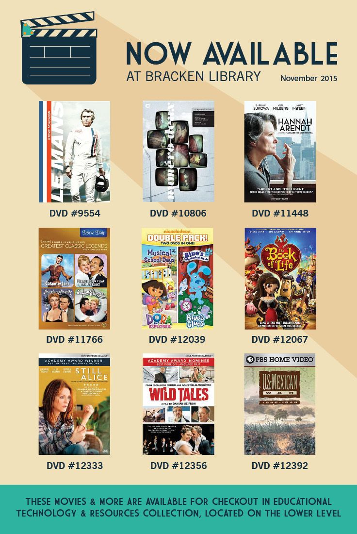 Movies That Are Now Available At Bracken Library November 2015 Ball State University Library Still Alice