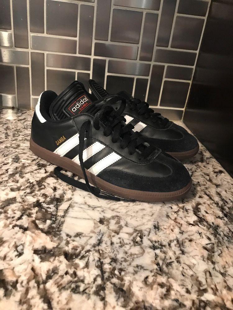 9fe86d74a79 Men s Adidas Samba Classic Size 6.5 Black Slightly Used Without Box   fashion  clothing  shoes  accessories  mensshoes  athleticshoes (ebay link)