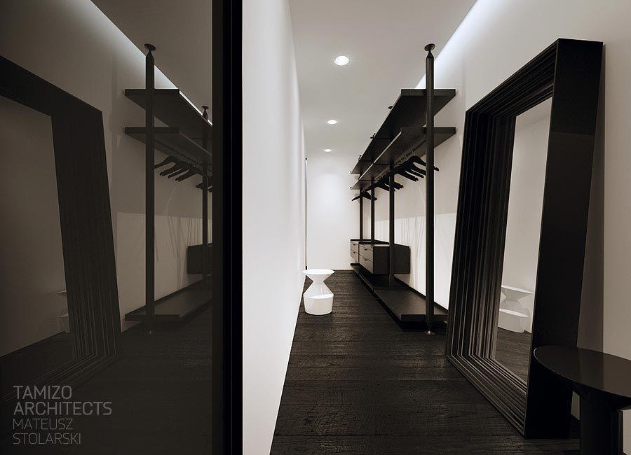 Projekt wnetrz domu jednorodzinnego torun tamizo architects