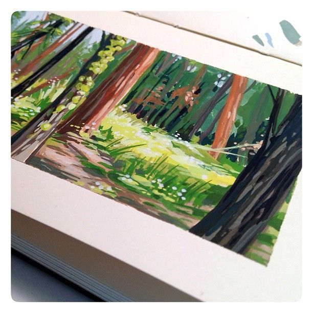 Illustration:Gallery:Concept: by JAW Cooper: Doodles and Plein Air ...